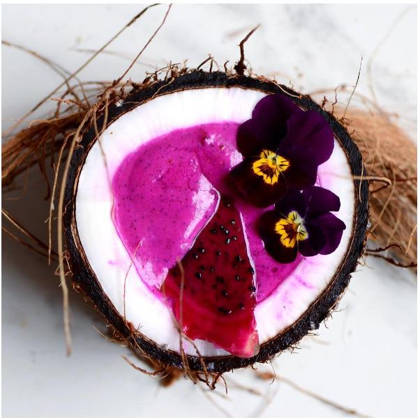 """<strong>Pink And Charcoal Coconut</strong> <br><br> While coconuts may not be losing popularity any time soon, it's pink coconut water and activated coconut charcoal that are gaining even more followers. While the charcoal is being used in smoothies, the pink coconut water is said to be the purest form of the fruit. Both options are only available in limited brunch spots across Australia right now, but come 2017 we predict they will be everywhere. <br><br> Image: <a href=""""https://www.instagram.com/p/BFWoX4_K2Sm/"""">@alphafoodie</a>"""