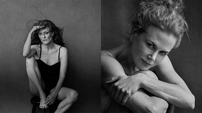 See behind the scenes images of the 2017 Pirelli calendar.