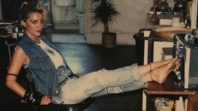 Madonna vintage polaroids