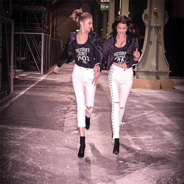 "Gigi Hadid and Bella Hadid<br><br> Bella wrote the sweetest message to sister Gigi, ""Can't believe I get to experience all of this with my best friend! 😇 i LOVE you!""<br><br> Instagram: <a href=""https://www.instagram.com/p/BNaWQoPAHHO/?taken-by=bellahadid"">@bellahadid</a>"