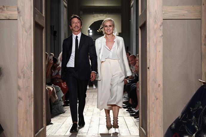 <strong>Fashion's Biggest Breakup of the Year </strong> <BR><BR> After acting as co-creative directors of Valentino since 2007, Pierpaolo Piccioli and Maria Grazia Chiuri went their separate ways when Chiuri exited the fashion house in July. Together, the power design couple revitalised Valentino after founder Valentino Garavani stepped down in 2007. The pair showed their final joint Haute Couture collection, inspired by Shakespearean era style, in July before the devastating fashion breakup was announced and Chiuri was confirmed as the new creative director at Dior while Piccioli stayed on as the sole creative director at Valentino.
