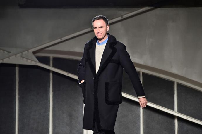 <strong>Raf Simons Is Confirmed at Calvin Klein</strong> <br><br> After months of speculation, Raf Simons was finally confirmed as the new creative director at Calvin Klein in August. Following Simons' run at Dior and a shakeup at Klein, the industry was ecstatic at the idea of the designer taking over the helms at the American fashion house. His debut collection for the brand will hit the runway in February 2017 at New York Fashion Week.