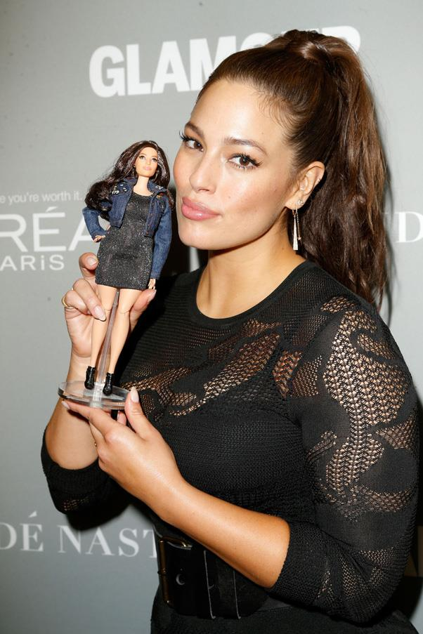 """<strong>Ashley Graham Emerges As A Model-to-Watch</strong> <br><br> The body positive model had a breakout year in fashion, shattering the stereotypical """"plus-size model"""" boundaries. From starring in Sports Illustrated's Annual Swimsuit Issue to walking the H&M Studio fashion show, facing an H&M campaign and launching her own lingerie line with Addition Elle, Graham had her biggest year yet. The model also used her voice for good in the industry this year penning an essay about body shaming and speaking out about the importance of inclusivity. Graham also concluded the year in the most fitting way possible—by getting her very own Barbie, which she made sure had """"thighs that touched"""" and curves."""