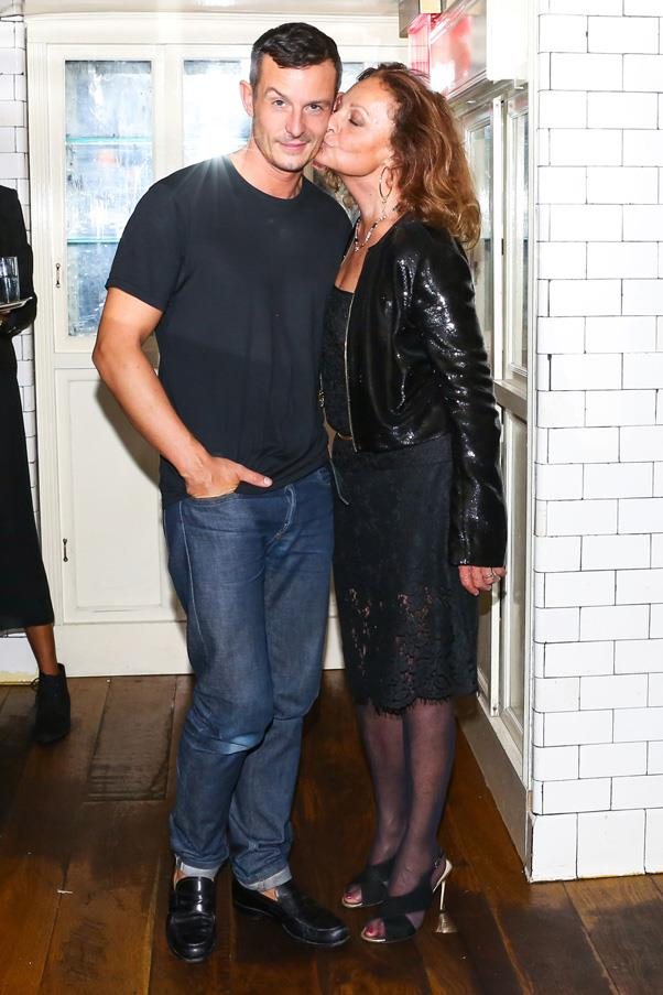 <strong>Diane von Furstenberg Passes the Reins to Jonathan Saunders</strong> <br><br> In May, Diane von Furstenberg announced she would be handing the creative reins of her brand to London designer Jonathan Saunders. Saunders took over as chief creative officer and proved to be the perfect fit for the job when he debuted his first DVF collection in September—filled with prints, colors and '70s-inspired styles—to rave reviews.