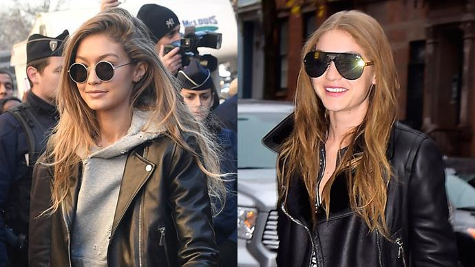 Less than a fortnight after walking the Victoria's Secret runway and Gigi Hadid has swapped her signature blonde strands for a warm, auburn mane and we approve.