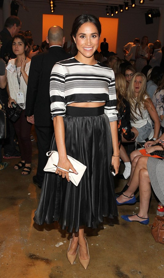 <strong>2014</strong> <br><br> Attending the Peter Som show at New York Fashion Week.