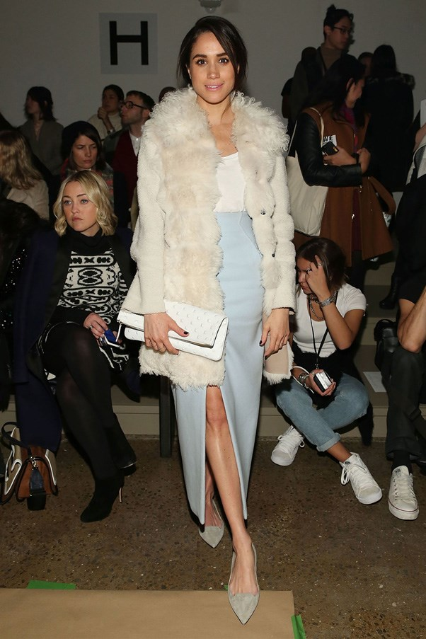 <strong>2015</strong> <br><br> at the Wes Gordon show during New York Fashion Week.