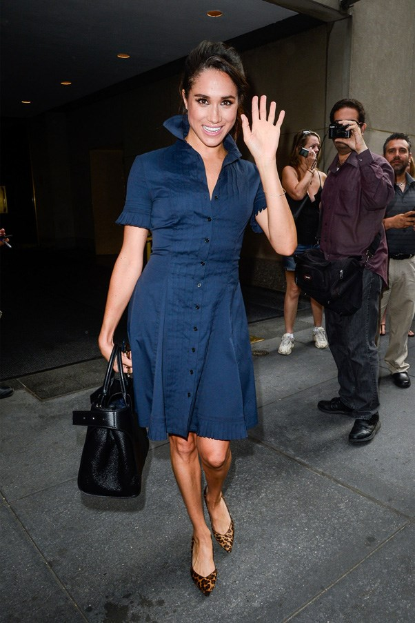 <strong>2016</strong> <br><br> Leaving the Today Show in New York.