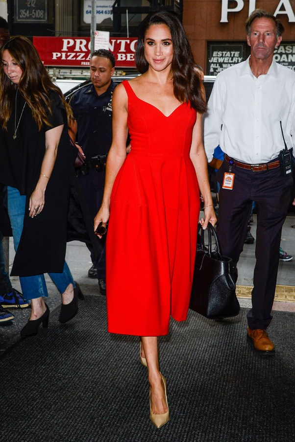 <strong>2016</strong> <br><br> Arriving at the Today Show in New York.
