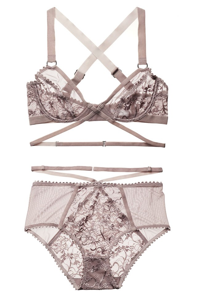 """<a href=""""https://lonelylabel.com/""""><strong>Lonely Lingerie</strong></a> <br></br> If you are not yet acquainted with this figure-flattering New Zealand label, now is the time. Think high-waisted designs with sheer mesh panelling and adjustable velvet straps."""