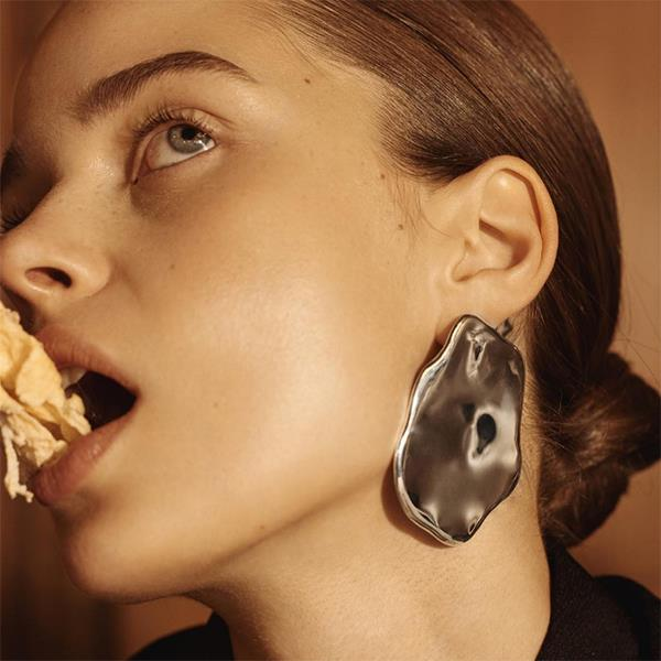 """Who: <a href=""""http://allblues.se/"""">All Blues</a> <br><Br> Why: This Swedish jewellery brand has only recently expanded to include women's offerings and already celebs and 'It' girls alike can't get enough of its eye-catching designs. <br><Br> Buy: Egg white earrings, $570, All Blues at <a href=""""https://www.theundone.com/collections/all-blues/products/all-blues-egg-white-single-earring-silver?variant=34808420810"""">The Undone</a> <br><Br> Image: <a href=""""https://www.instagram.com/allbluesofficial/?hl=en"""">@allbluesofficial</a>"""