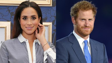 The First Pictures of Meghan Markle and Prince Harry are Here