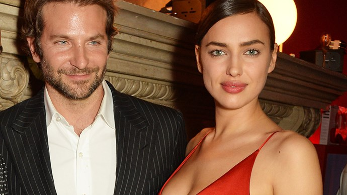 Irina Shayk and Bradley Cooper.