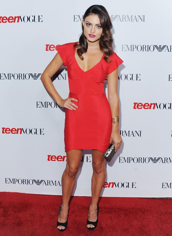 <strong>2012</strong><br><br> At Teen Vogue's 10th Anniversary Party