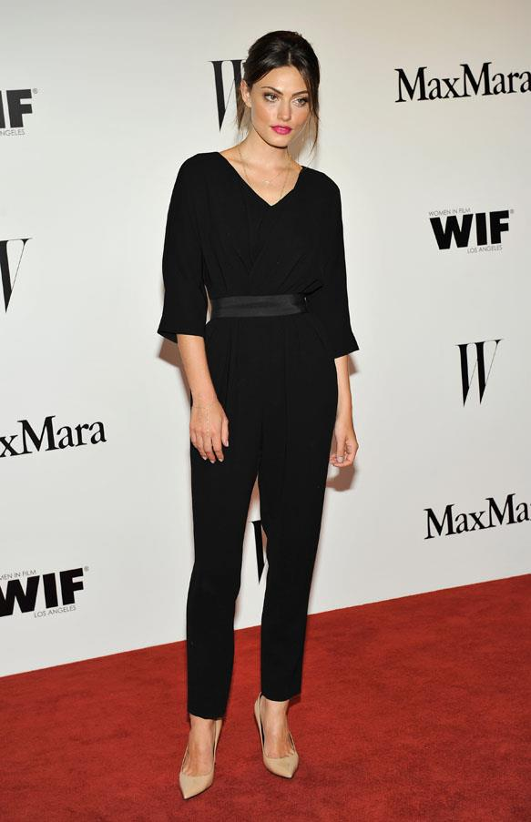 <strong>2013</strong><br><br> At the Max Mara and <em>W Magazine</em> party