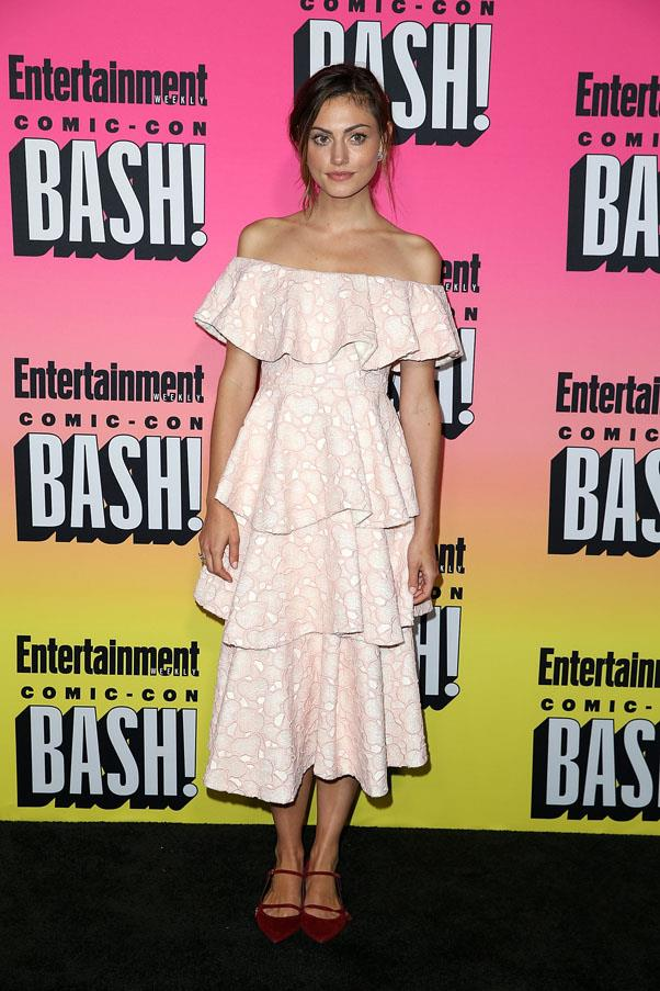 <strong>July, 2016</strong><br><br> At Entertainment Weekly's annual Comic-Con Party