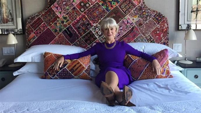 dame helen mirren joins instagram