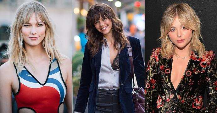 We're calling it: bangs with bobs are going to be everywhere in 2017. Get inspired, on your way to the hairdresser, here.
