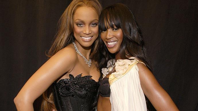 Naomi Campbell Tyra Banks Feud