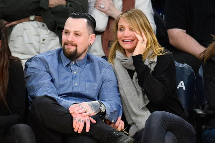 <strong>BENJI MADDEN AND CAMERON DIAZ </strong> <br><br> After a quick engagement, Cameron Diaz and Benji Madden quietly tied the knot at a private ceremony held at her Beverly Hills home back in January 2015.