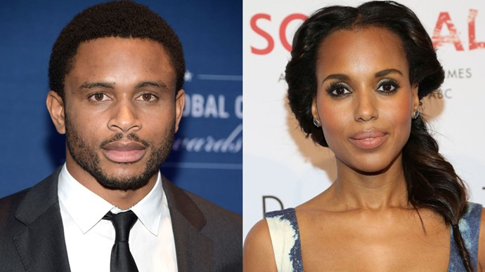 <strong>KERRY WASHINGTON AND NNAMDI ASOMUGHA </strong> <br><br> Kerry Washington is always hush-hush about her private life, and her wedding to 49ers cornerback Nnamdi Asomugha was no exception. According to their wedding certificate, the two snapped vows in Hailey, Idaho back in June 2013. Everything else remains a mystery.