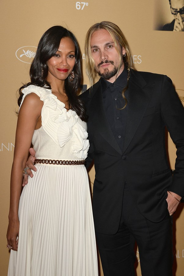 <strong>ZOE SALDANA AND MARCO PEREGO</strong> <br><br> The couple planned their secret ceremony in just three weeks back in September 2013 and later welcomed twins. Saldana has kept all of the details under wraps but we do know that Marco Perego decided to take his wife's last name.
