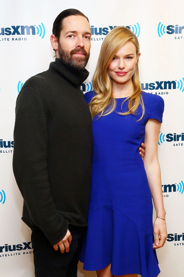 <strong>KATE BOSWORTH AND MICHAEL POLISH</strong> <br><br> The stunning actress exchanged vows with writer and director Michael Polish in an intimate ceremony at The Ranch at Rock Creek in Montana back in August 2013. The front row regular wore a bespoke strapless ball gown by Oscar de la Renta with a train that measured 16 feet wide.