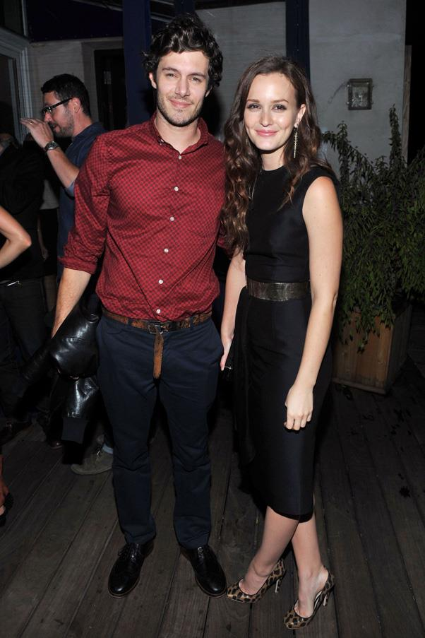 <strong>LEIGHTON MEESTER AND ADAM BRODY</strong> <br><br> Leighton Meester and Adam Brody shocked fans when word got out that they tied the knot in a super-secret ceremony in Northern California earlier this year.