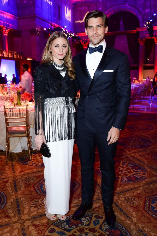 <strong>OLIVIA PALERMO AND JOHANNES HUEBL</strong> <br><br> Olivia Palermo broke the news of her nuptials to model Huebl via Instagram in late June. The bride wore a chic Carolina Herrara skirt with a high slit and cobalt Manolos (in true Carrie Bradshaw style). Huebl made it clear that this was only the first of a string of wedding events, so stay tuned for another secret wedding around the corner.