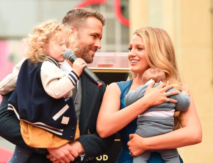 Blake Lively Ryan Reynolds Daughters
