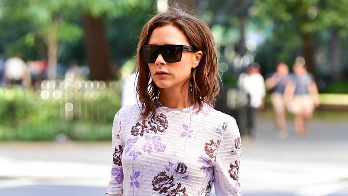 Victoria Beckham Street Style New York