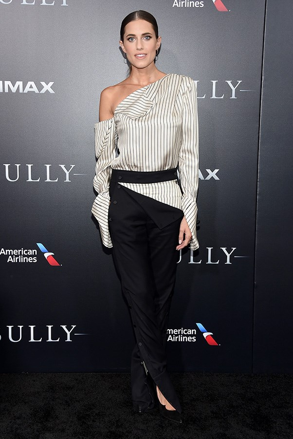 Allison Williams at the premiere of <em>Sully</em>.