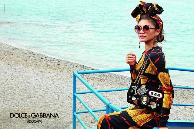 <strong>Dolce & Gabbana</strong><br><br> Modelled by Zendaya, Thylane Blondeau, Sonia Ben Ammar, Cameron Dallas, Luka Sabbat, Gabriel-Kane Day-Lewis, Brandon Thomas Lee, and Rafferty Law, shot by Franco Pagetti.
