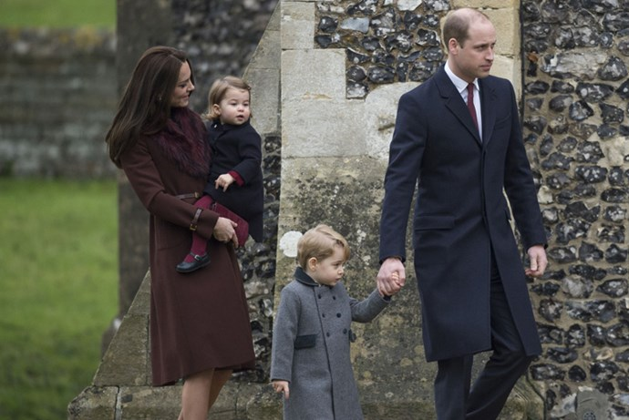 <strong>SHE DOESN'T SHY AWAY FROM HOLIDAY TREATS</strong> <BR><BR> When Will and Kate bring the kids to Sandringham House in Norfolk to spend Christmas with the Queen, they're greeted with all sorts of treats. Christmas morning kicks off with a hardy breakfast before church, followed by a lunch of salad with shrimp or lobster, roasted turkey, and traditional sides like parsnips, carrots and Brussels sprouts. Come dinnertime, the chef carves an impressive rib roast, turkey or ham, to be eaten with 15 to 20 other buffet items.