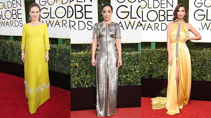All the looks from the 2017 Golden Globes awards red carpet.
