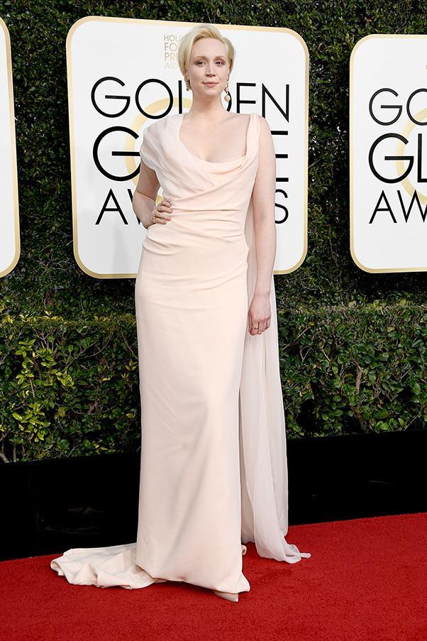 Gwendoline Christie in custom Vivienne Westwood