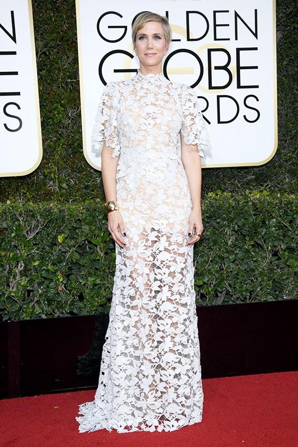 Kristen Wiig in Reem Acra