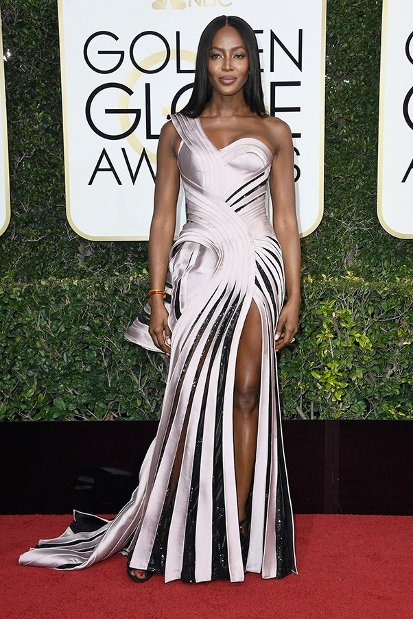 Naomi Campbell in Atelier Versace
