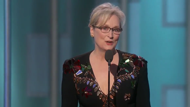 Here's The Full Transcript Of Meryl Streep's Powerful Golden Globes Speech