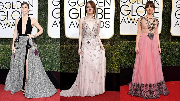 The <em>BAZAAR</em> team share their frank and honest feedback of the best and worst dressed from the 2017 Golden Globes red carpet.