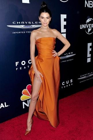 Miranda Kerr at a Golden Globes after party 2017.