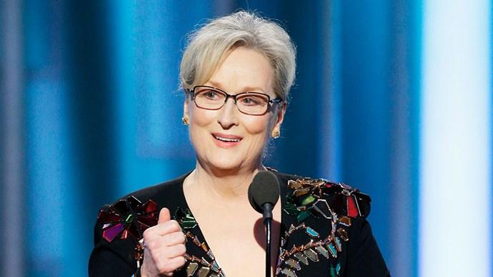 Meryl Streep 2017 Golden Globes Speech