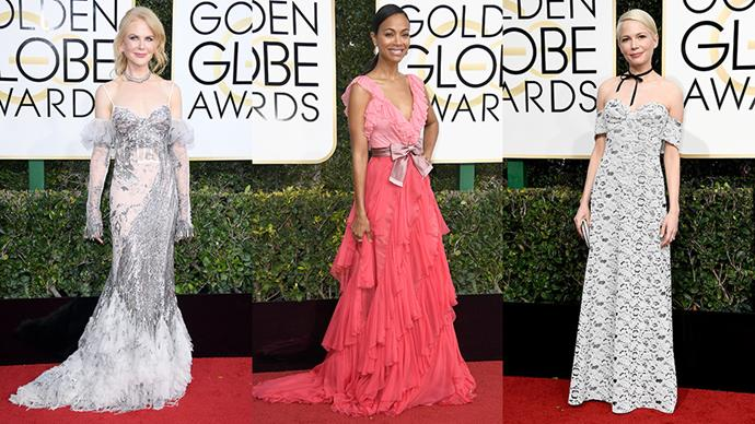 The Golden Globes set the tone for what we can expect to see, style wise, on the red carpet this awards season. Here, six takeaway trends.