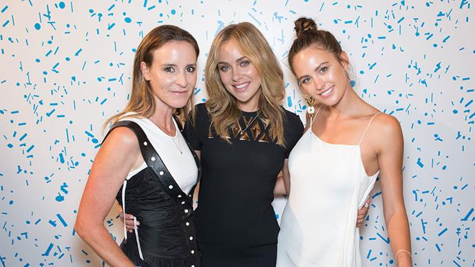 Amanda Shadforth, Jessica Marais and Jesinta Campbell.