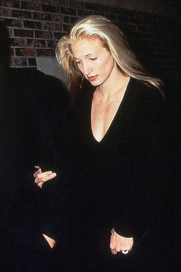 At an event with husband John F. Kennedy Jr., 1994