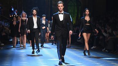 Both Sofia Richie And Immy Waterhouse Walked In Dolce & Gabbana's Men's Fashion Week Show