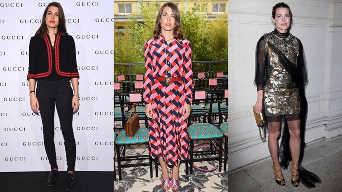 <strong>Charlotte Casiraghi</strong> <br><br> A daughter of Caroline, Princess of Hanover and Princess of Monaco, Charlotte is an accomplished journalist and equestrian.