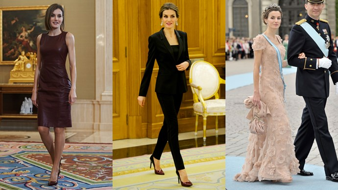 <strong>Queen Letizia of Spain</strong> <br><br> After meeting the King Felipe VI of Spain as a journalist, Queen Letizia has cemented herself as one of the most stylish royals.