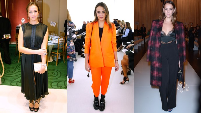 <strong>Pauline Ducruet</strong> <br><br> Pauline, the eldest daughter of Princess Stéphanie of Monaco, is a professional diver and currently studies fashion design in New York.