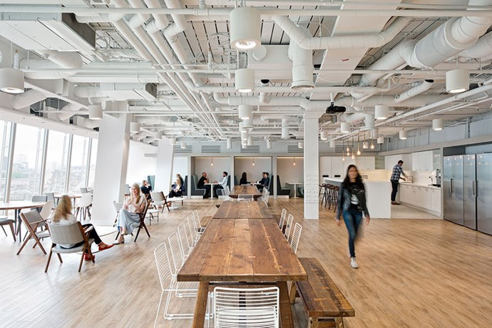 "<strong>Tell us a little about your working space, and why you designed it the way you did? </strong> <br><br> <em>""The Matches Fashion head office is located over two floors of The Shard, one of the London's most iconic buildings. Our move here in July 2016 was an opportunity to connect over 300 employees from five different offices. In addition to being an office space for our editorial, tech, communications, buying, merchandising and finance teams, the space also had to accommodate a full photo studio with the capacity to shoot up to 250 products a day, a 24 hour MyStylist and customer service team and a design studio for our exclusive brand RAEY.""</em>"